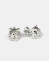 orecchini coppia persiano argento lucido