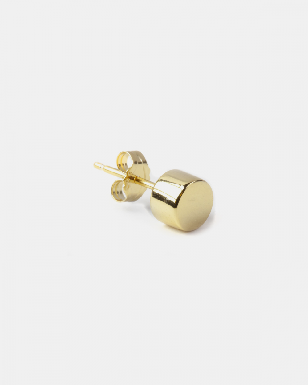 Earrings ORECCHINO SINGOLO LOBO CERCHIO BOLD / ORO GIALLO LUCIDO - O/S NOVE25