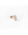 orecchino singolo lobo mano di fatima mini zirconata oro rosa lucido