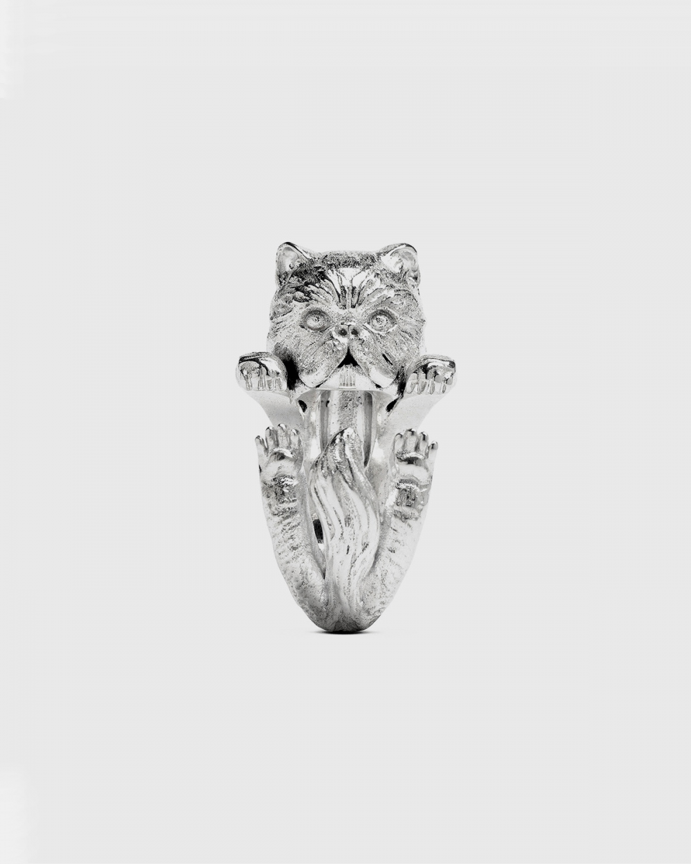 Cat Fever PERSIAN HUG RING / POLISHED SILVER NOVE25