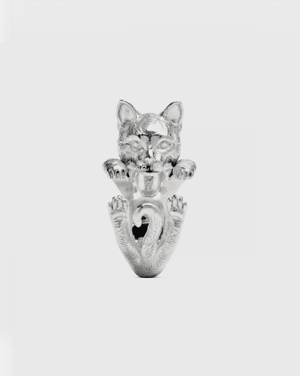 Cat Fever EUROPEAN HUG RING / POLISHED SILVER NOVE25