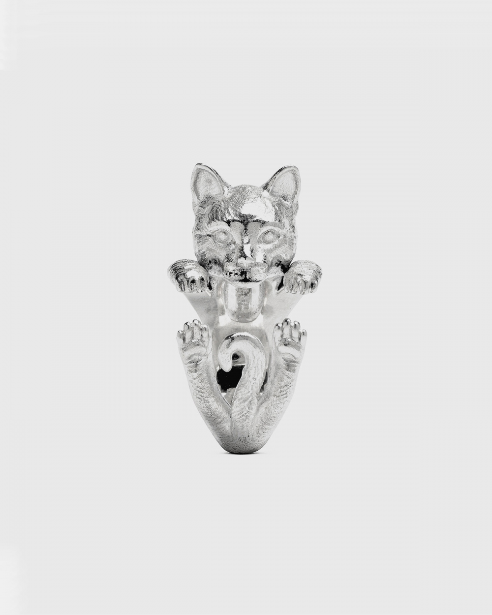 Cat Fever EUROPEAN HUG RING / POLISHED SILVER NOVE25
