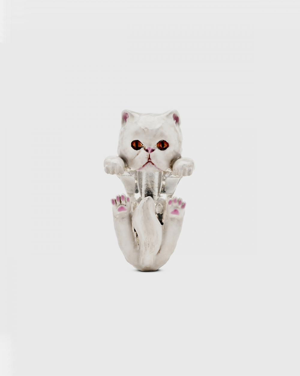 Cat Fever PERSIAN HUG RING / ENAMELLED NOVE25