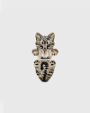 anello hug europeo smalto tigrato cat fever