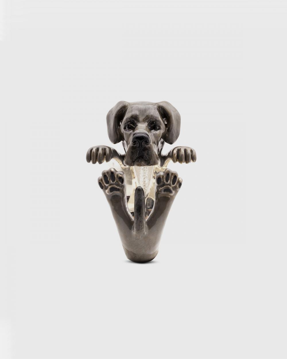 Dog Fever GREAT DANE FINE RING / ENAMELLED NOVE25