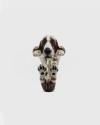 anello hug basset hound smalto