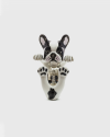 anello hug bulldog francese smalto