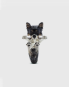 anello hug chihuahua pelo lungo smalto