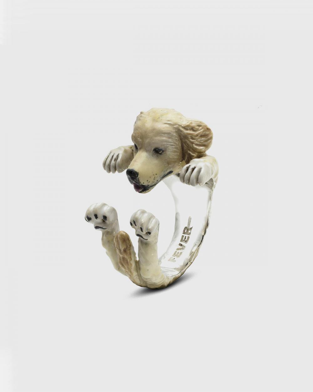 ANELLO HUG GOLDEN RETRIEVER / SMALTO