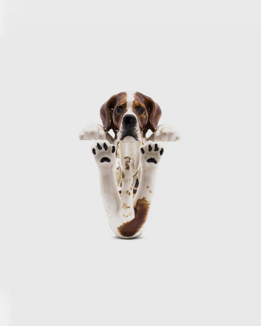 Dog Fever POINTER FINE RING / ENAMELLED NOVE25