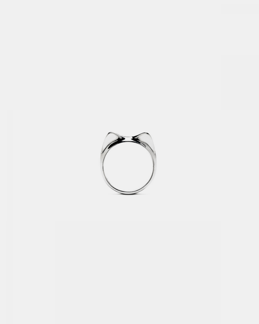 Cat Fever KITTEN FINE RING / POLISHED SILVER NOVE25