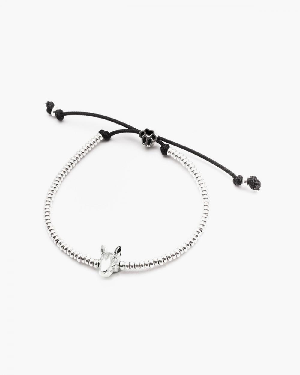 Bracelets BULL TERRIER SNOUT BRACELET / POLISHED SILVER NOVE25