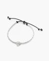 maltese snout bracelet polished silver
