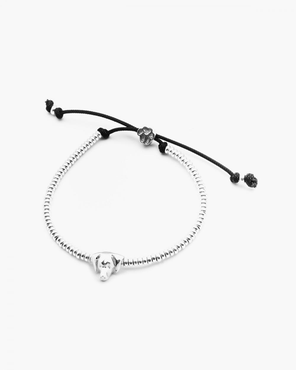Bracelets WEIMARANER SNOUT BRACELET / POLISHED SILVER NOVE25