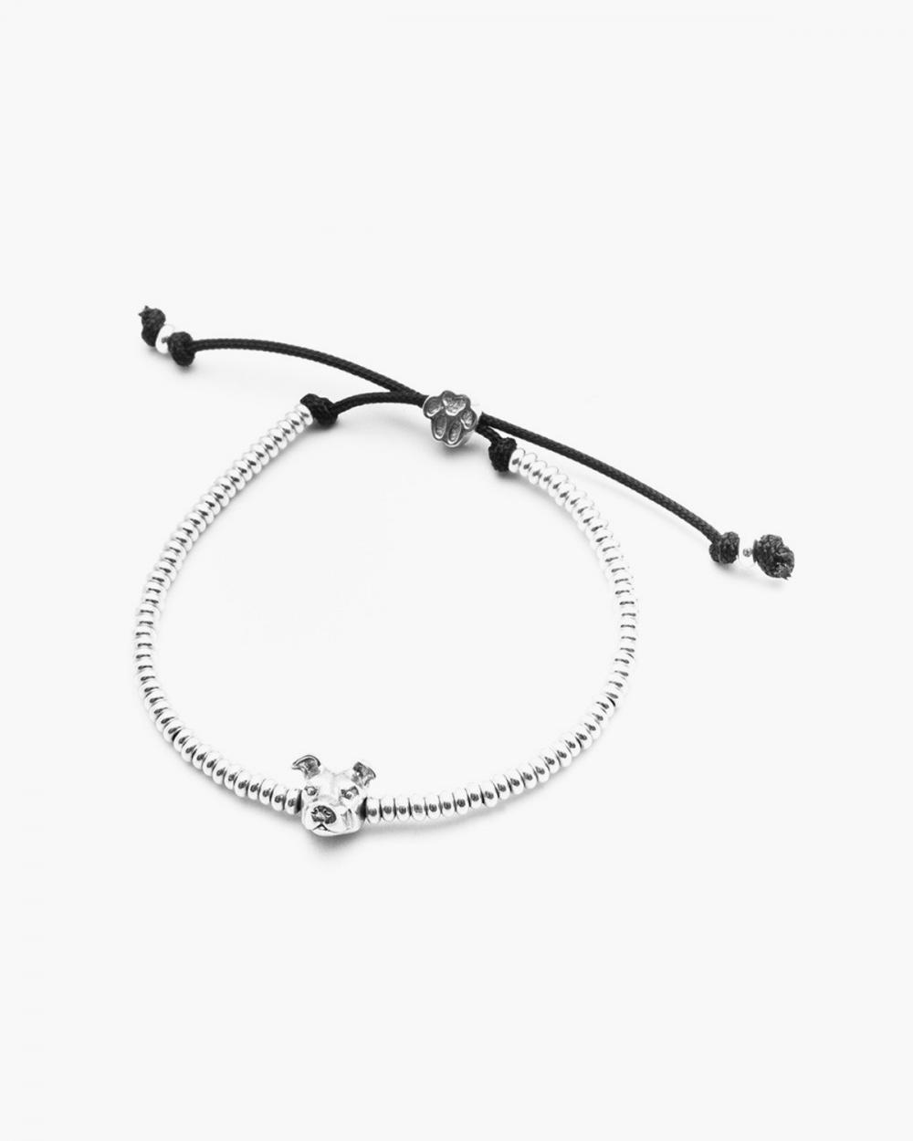 Bracelets AMERICAN STAFFORDSHIRE SNOUT BRACELET / POLISHED SILVER NOVE25
