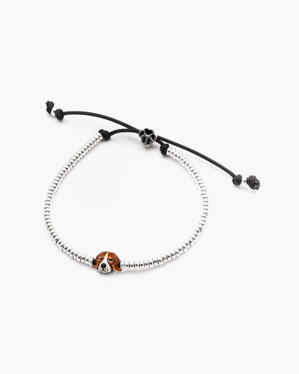beagle snout bracelet enamelled
