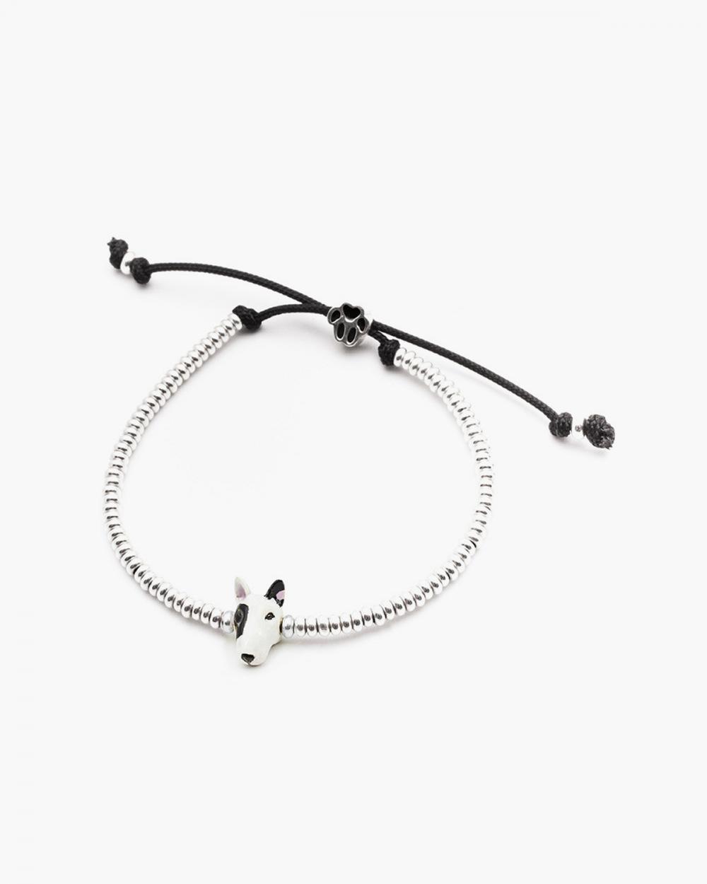 Bracelets BULL TERRIER SNOUT BRACELET / ENAMELLED NOVE25