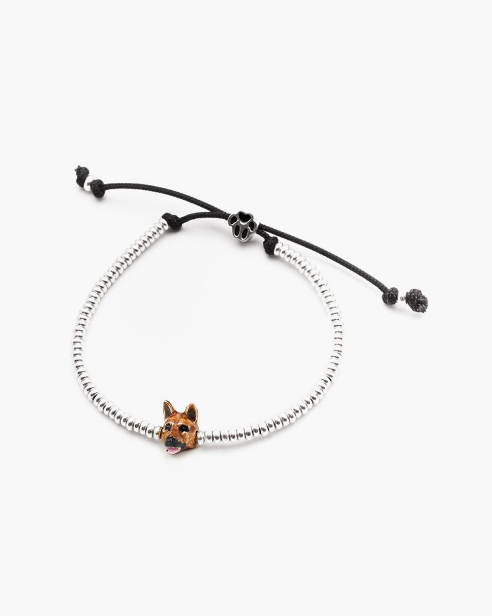 Bracelets GERMAN SHEPERD SNOUT BRACELET / ENAMELLED NOVE25