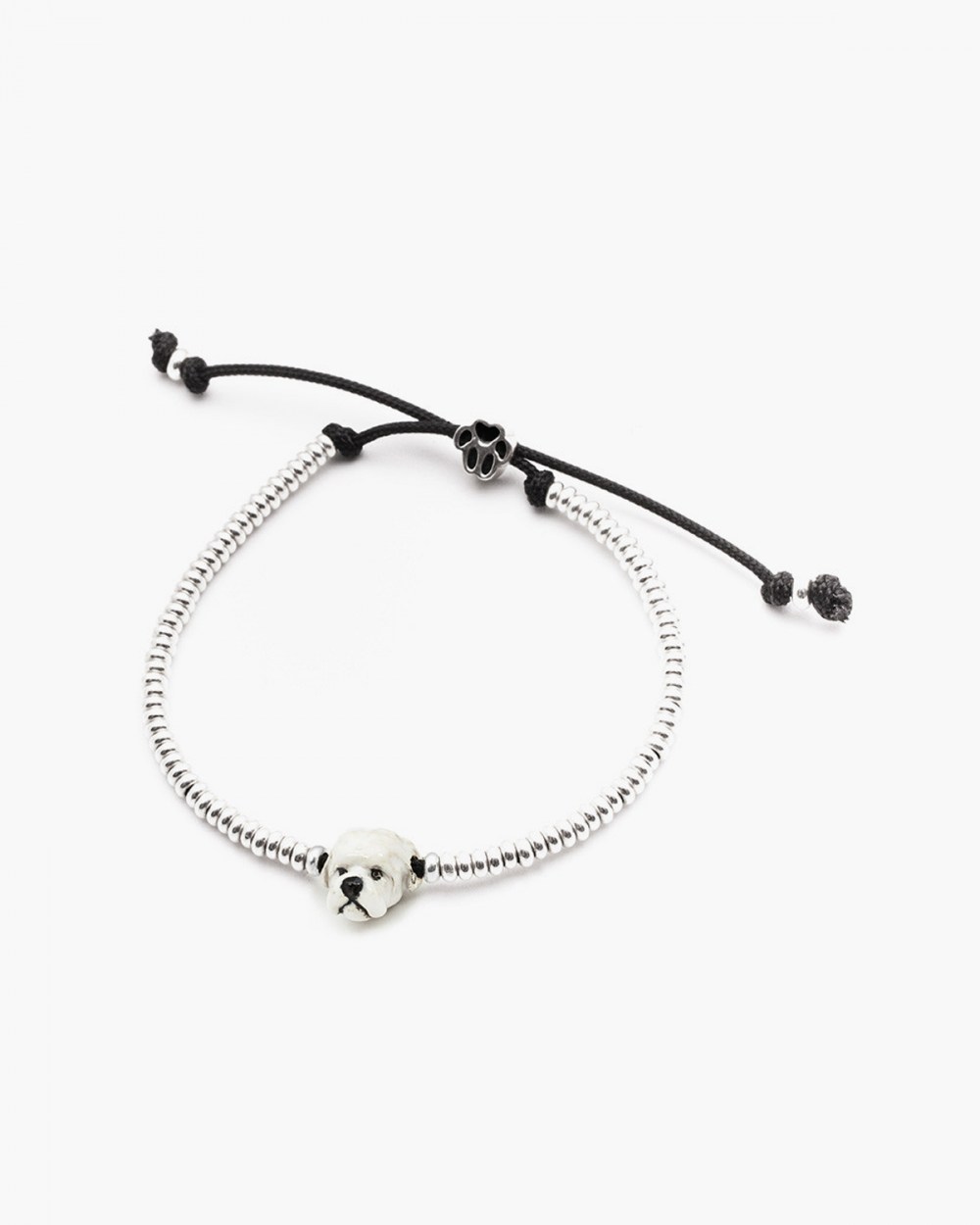 maltese snout bracelet enamelled