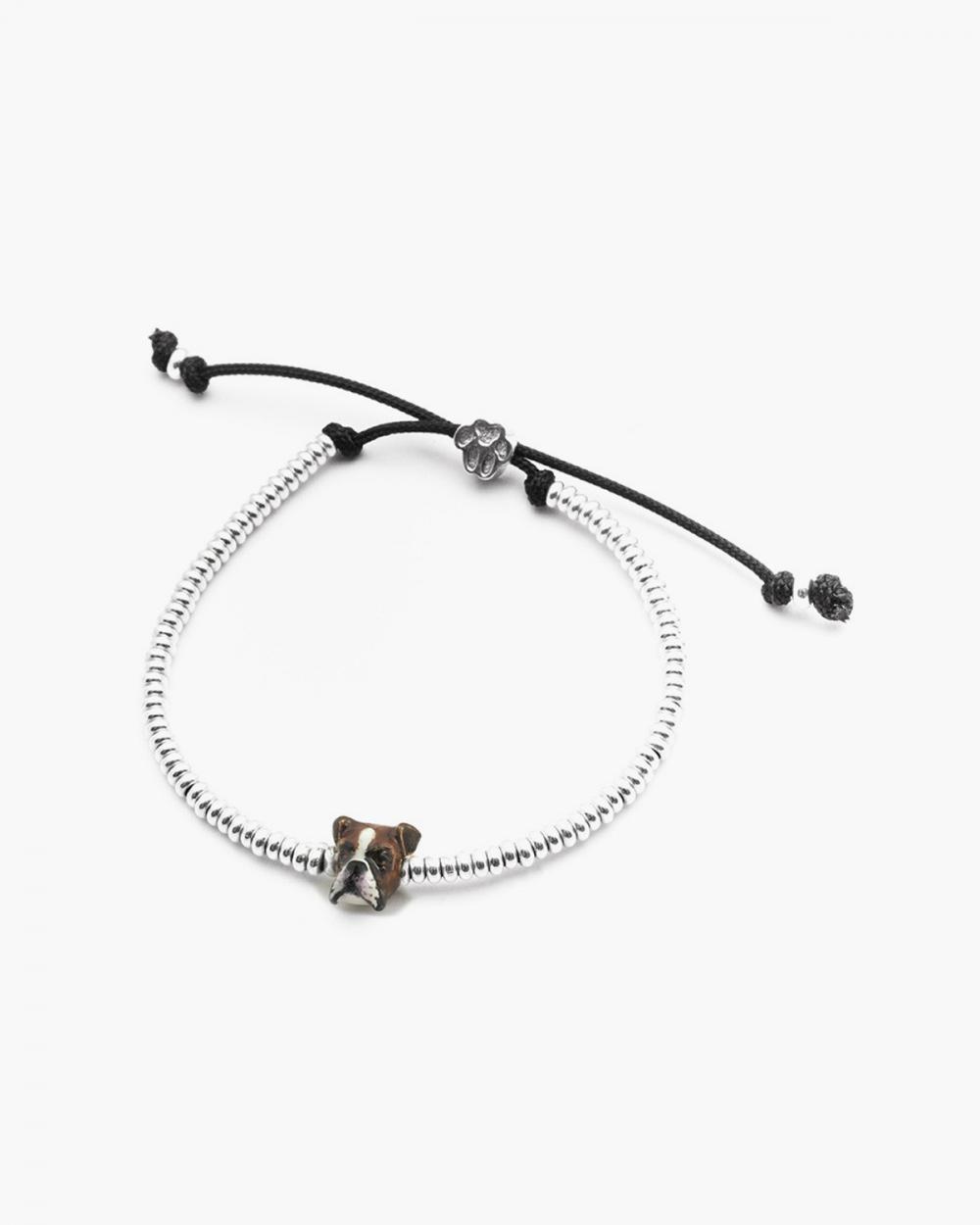 Bracelets BOXER SNOUT BRACELET / ENAMELLED NOVE25