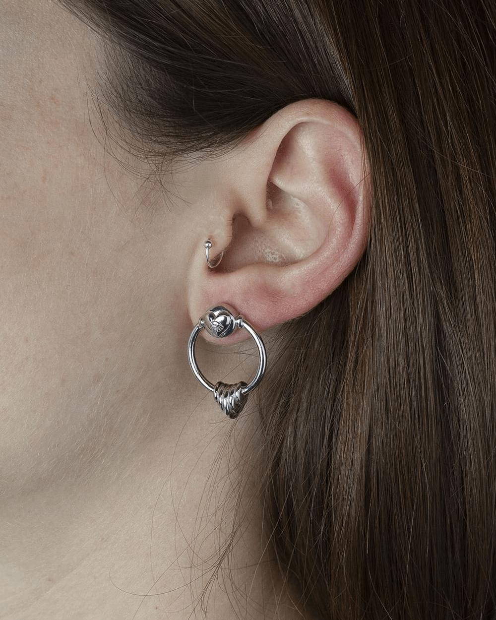Earrings SILVER THE EMPRESS PAIR EARRINGS NOVE25