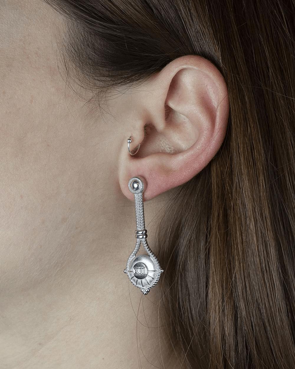 Earrings SILVER THE HANGED MAN PAIR EARRINGS NOVE25