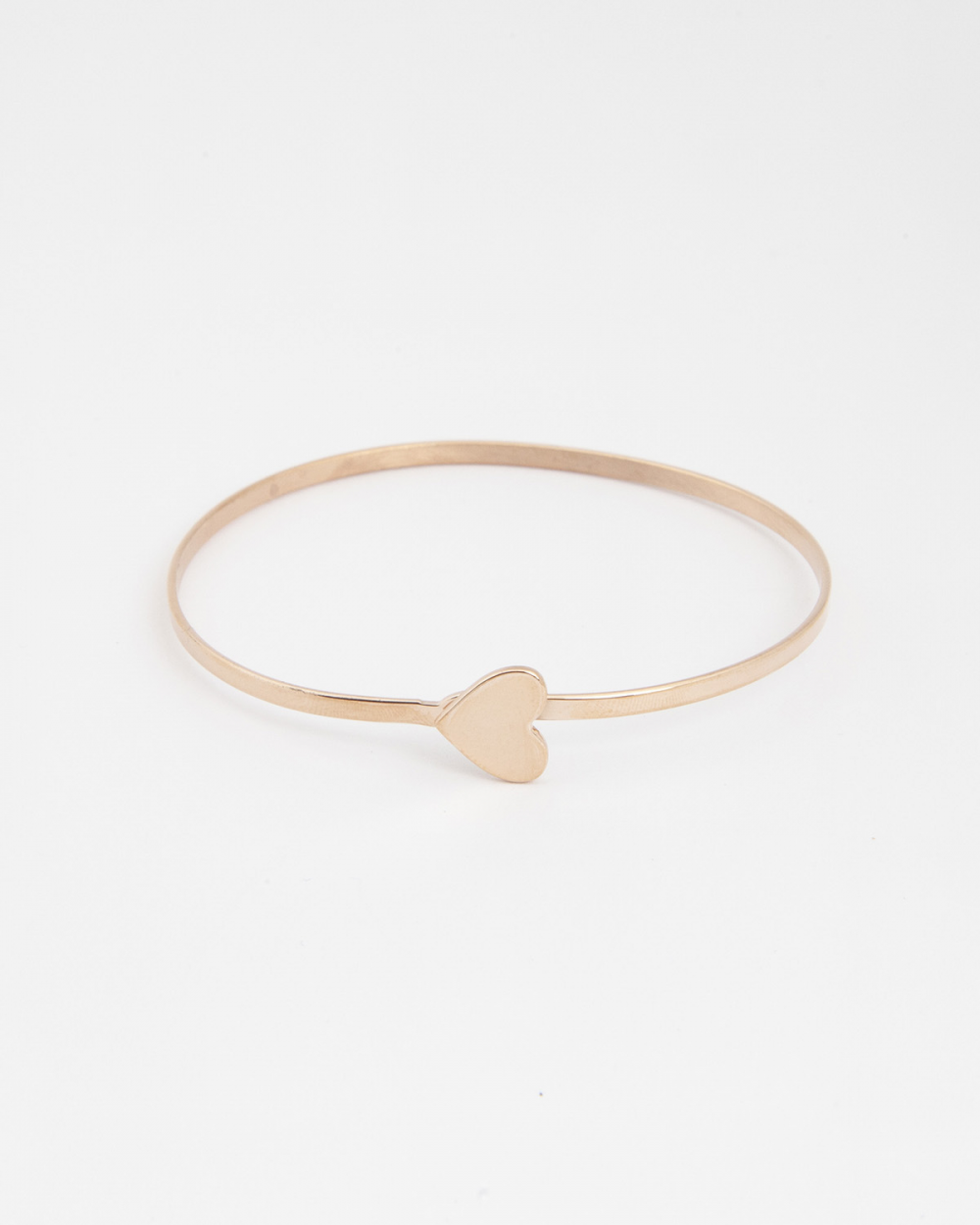Archive Sale HEART BANGLE / ROSE GOLD FINISH NOVE25