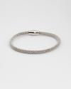 450 magnet bracelet rhodium finish