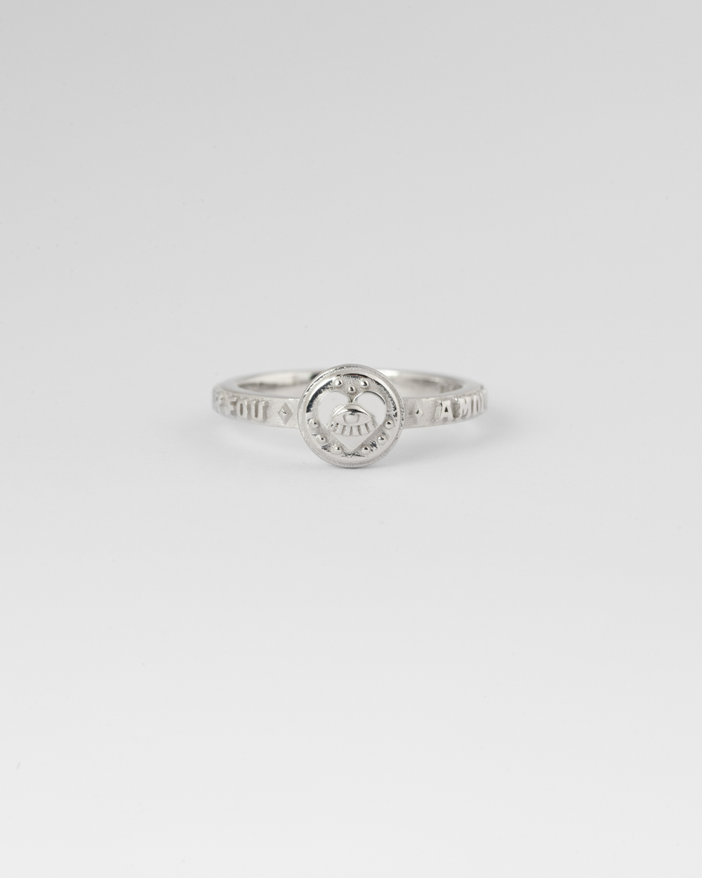 silver the lovers fine ring