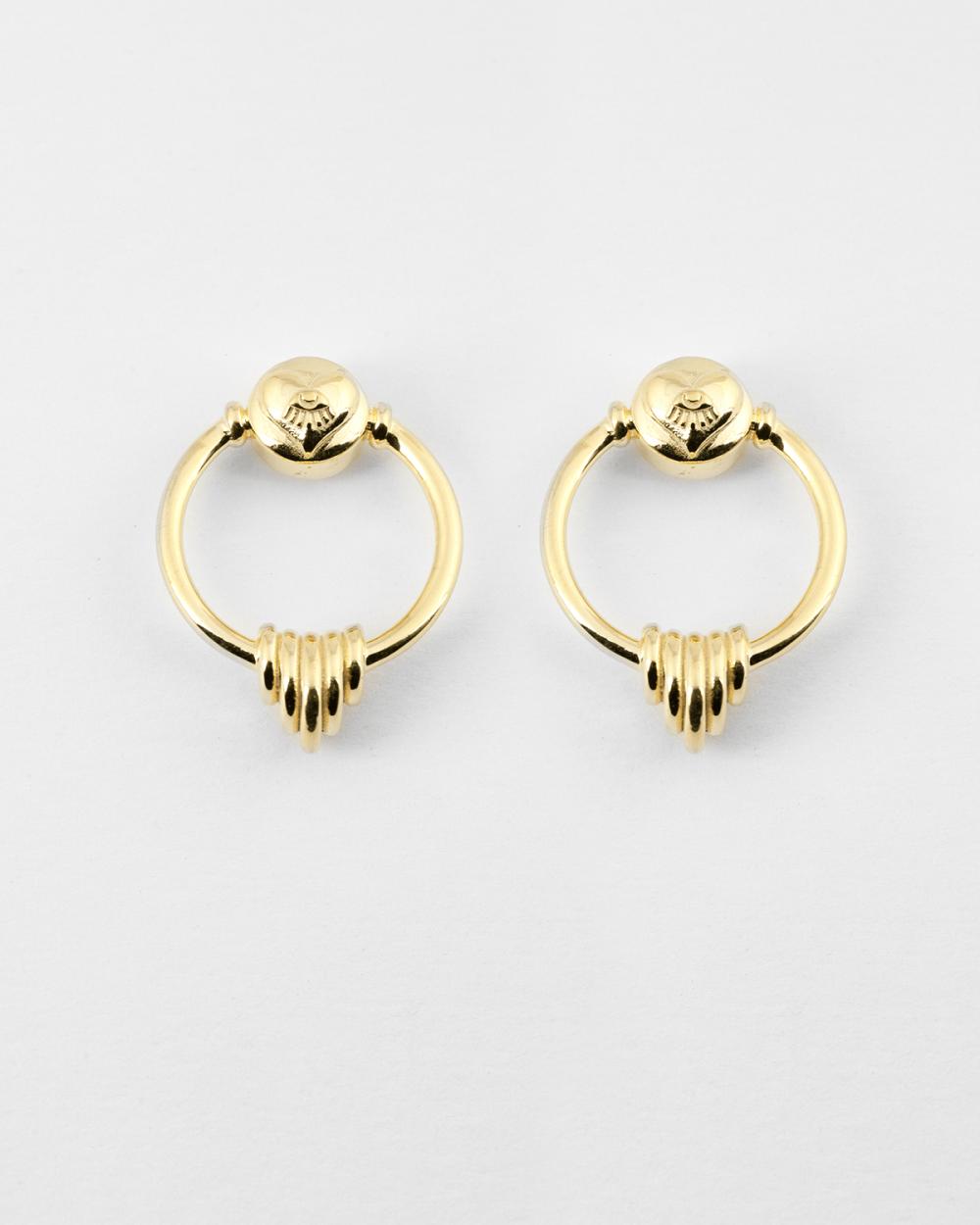 orecchini coppia l imperatrice oro giallo