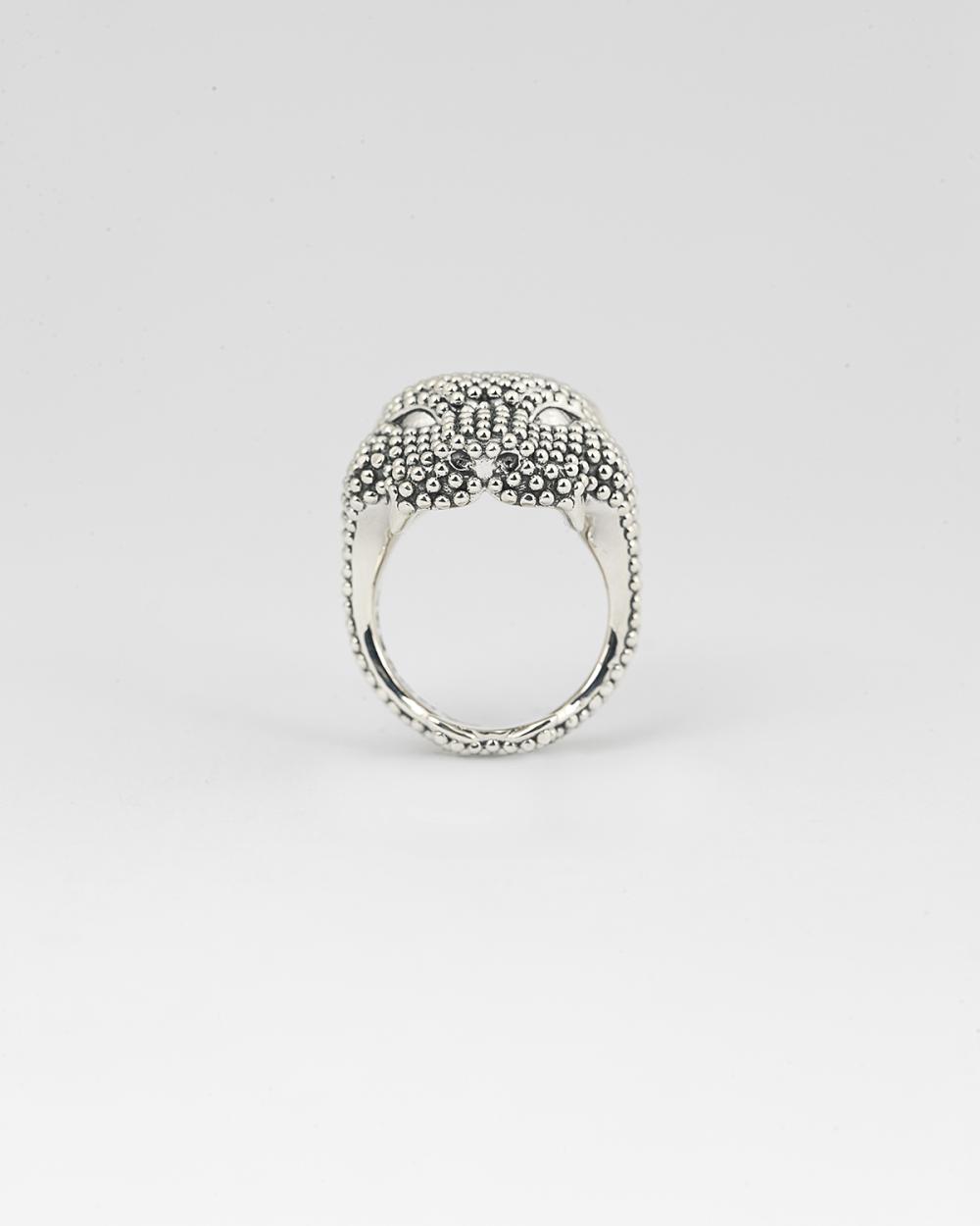 anello pantera puntinata