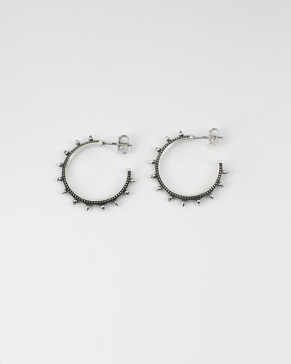 orecchini coppia etnici cerchio medio