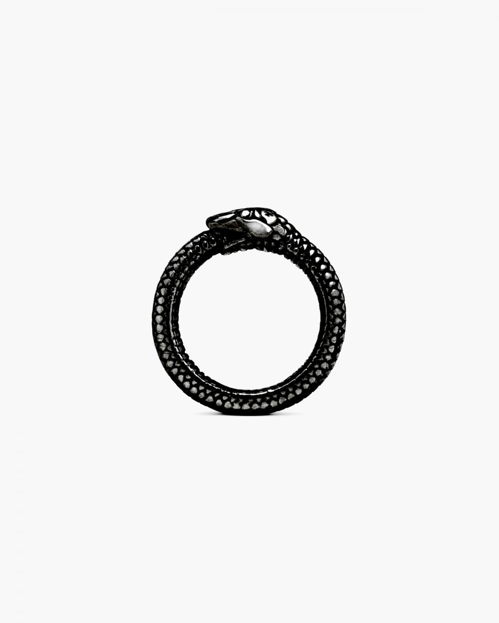 ruthenium ouroboros ring