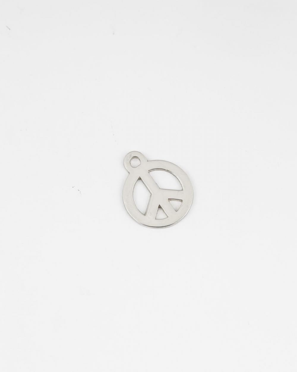 pendente simbolo pace medio
