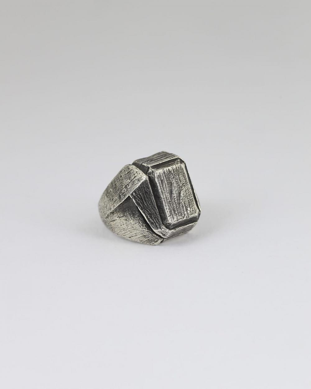 anello rettangolo anticato
