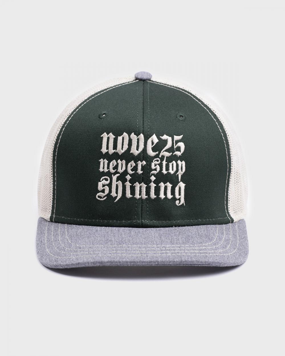 trucker cap nove25 green