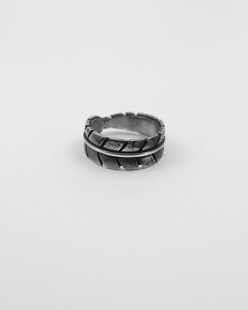 native eagle feder band ring