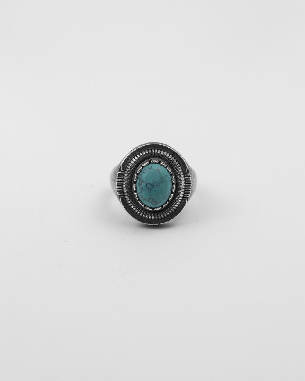 chevalier scudo ovale turchese